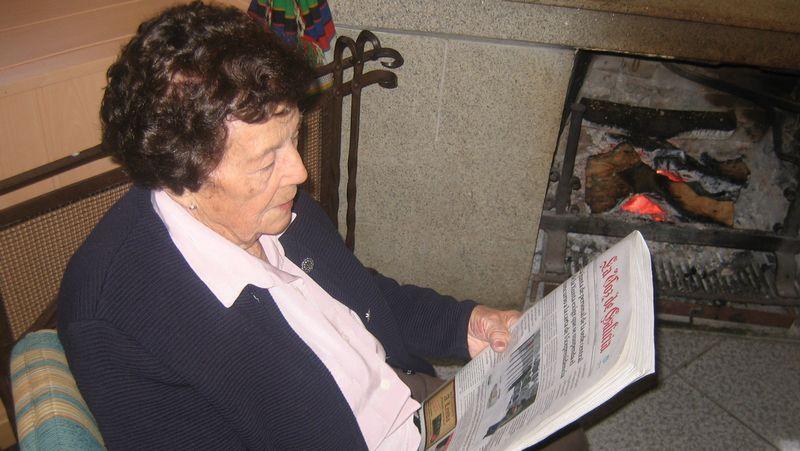 Pilar López leía todos los días varias periódicos