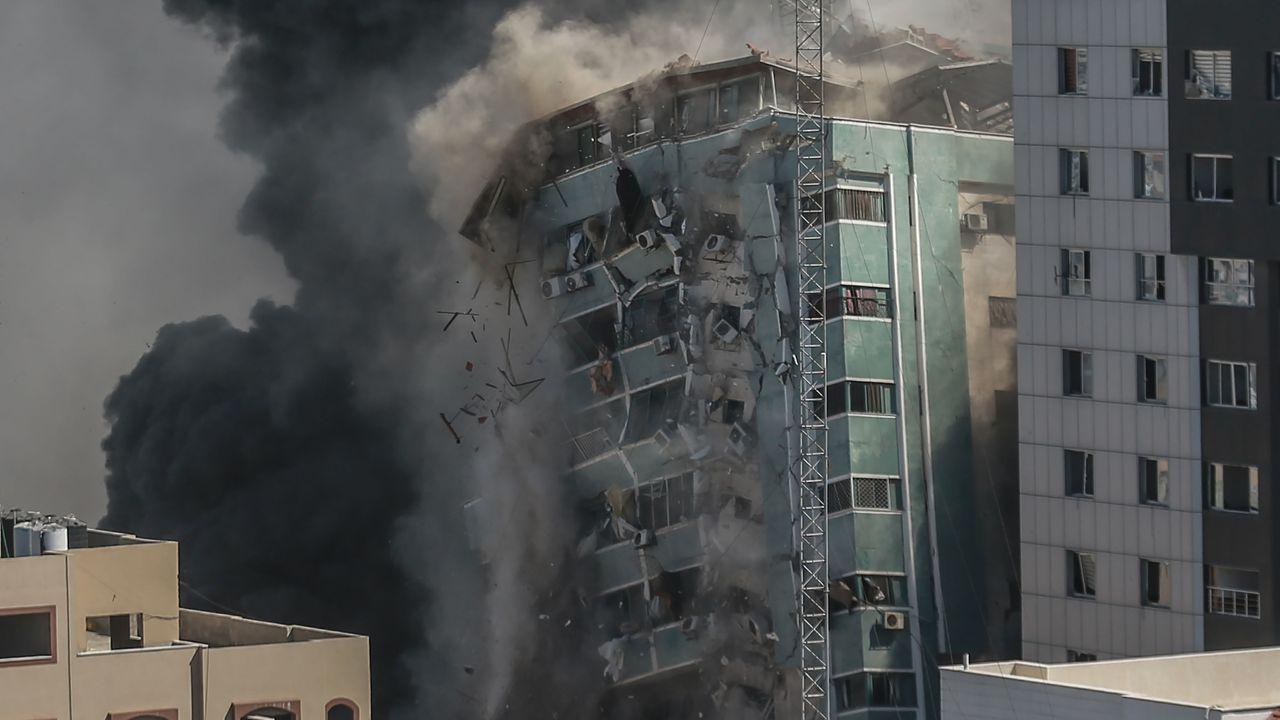 Los bombardeos israelíes castigan Gaza