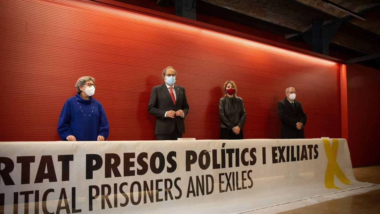 Oriol Junqueras, condenado a prisión por el Procés, cuando consiguió el tercer grado ahora revocado por el Supremo