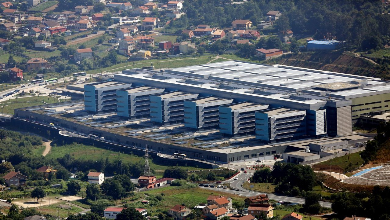 Sede del Tribunal Superior de Xustiza de Galicia, en A Coruña