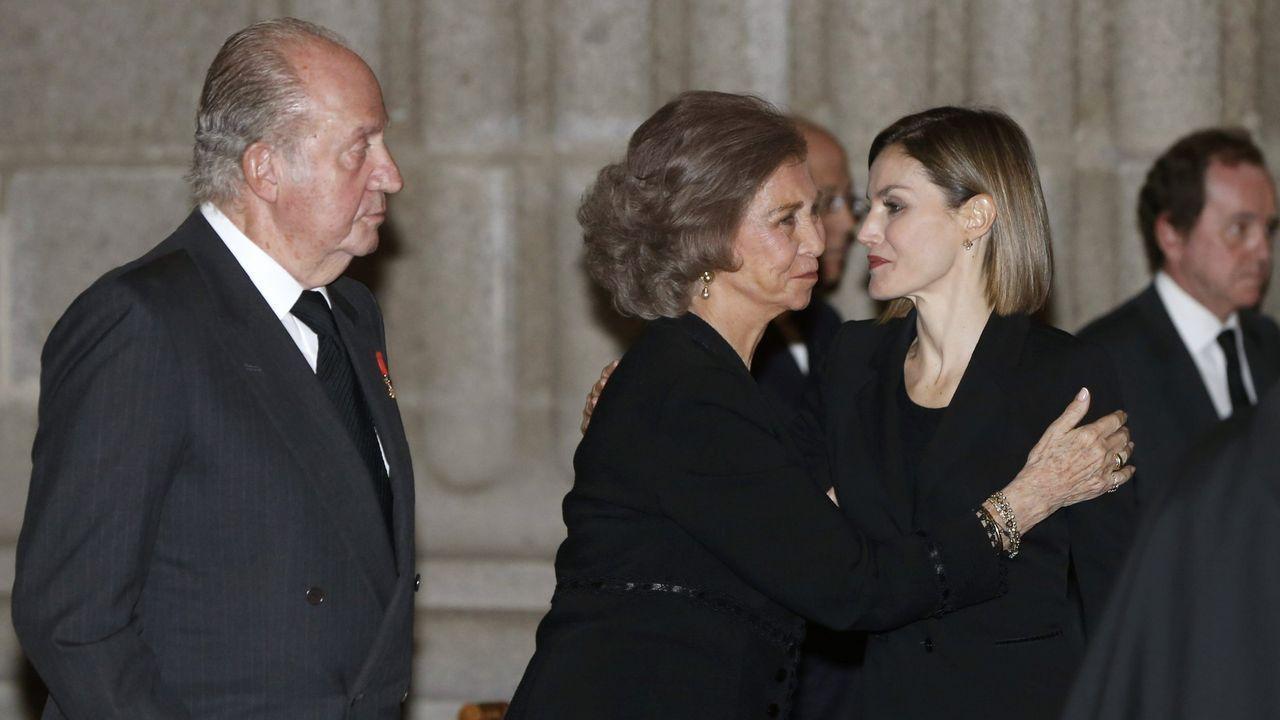 Funeral por el infante Carlos de Borbón-Dos Sicilias, Duque de Calabria
