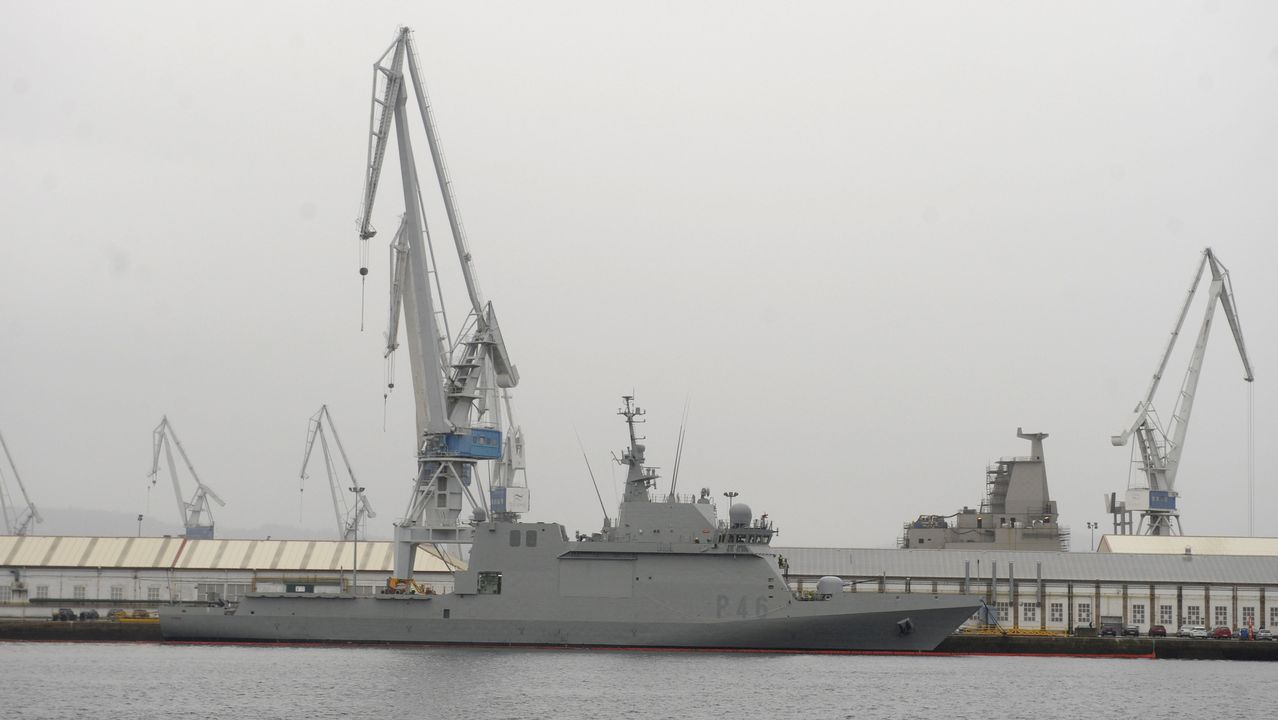 Así son las fragatas F-110 que construirán los astilleros de Ferrol