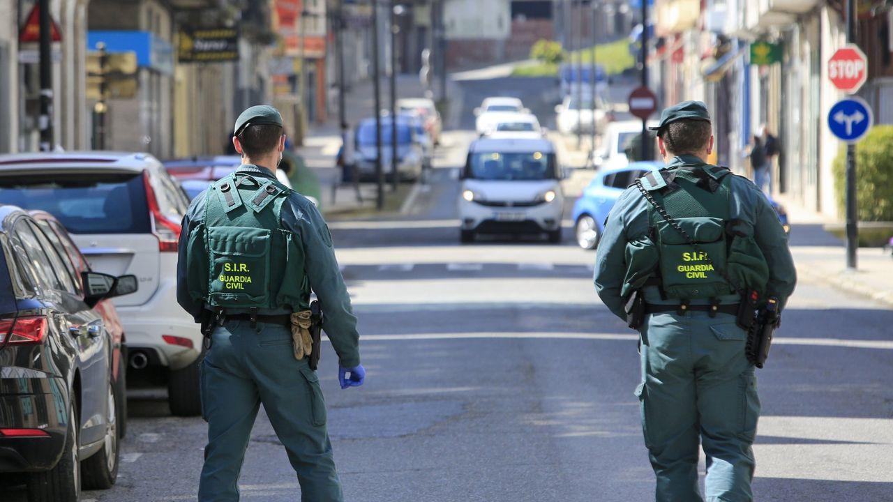 La Guardia Civil detuvo al agresor y le puso a disposición judicial