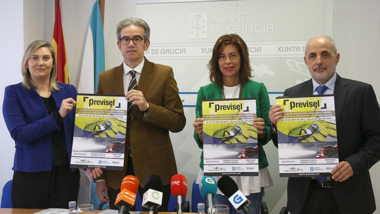 Movilización del naval de Ferrol en demanda de carga de trabajo.Huelga en ArcelorMittal
