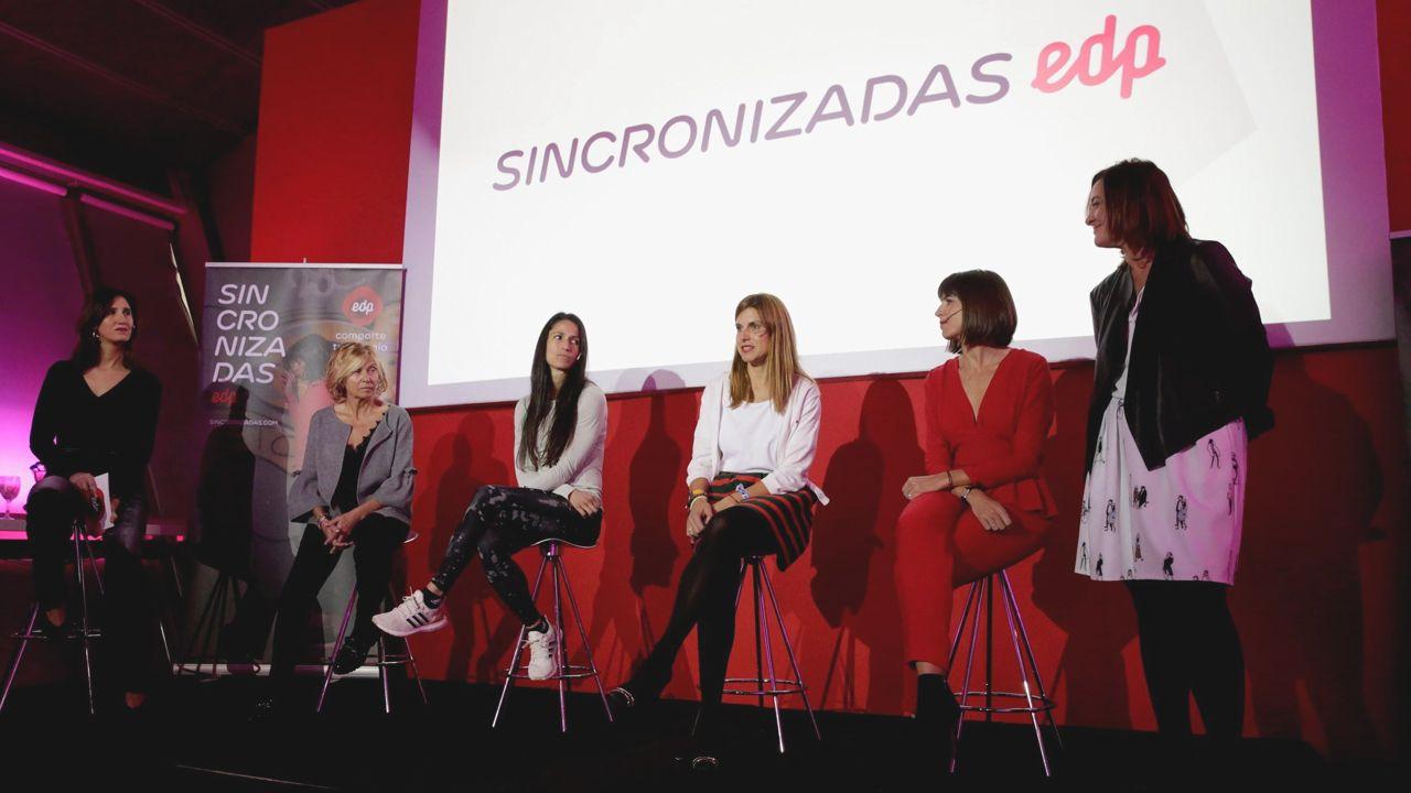 Chuny Bermúdez de Castro: «Es hora de crear un proyecto en Galicia». Presentación de «Sincronizadas» la primera plataforma que pone en contacto a mujeres para fomentar el deporte femenino