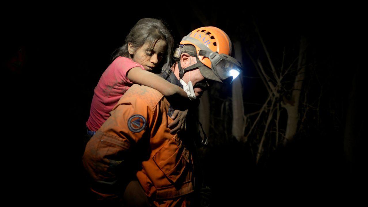 Desastre natural en Guatemala.Vista da erupción da zona de ruptura do leste de Kilauea o xoves 31 de maio