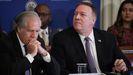 Almagro y Pompeo, en una reunión de la OEA el pasado enero