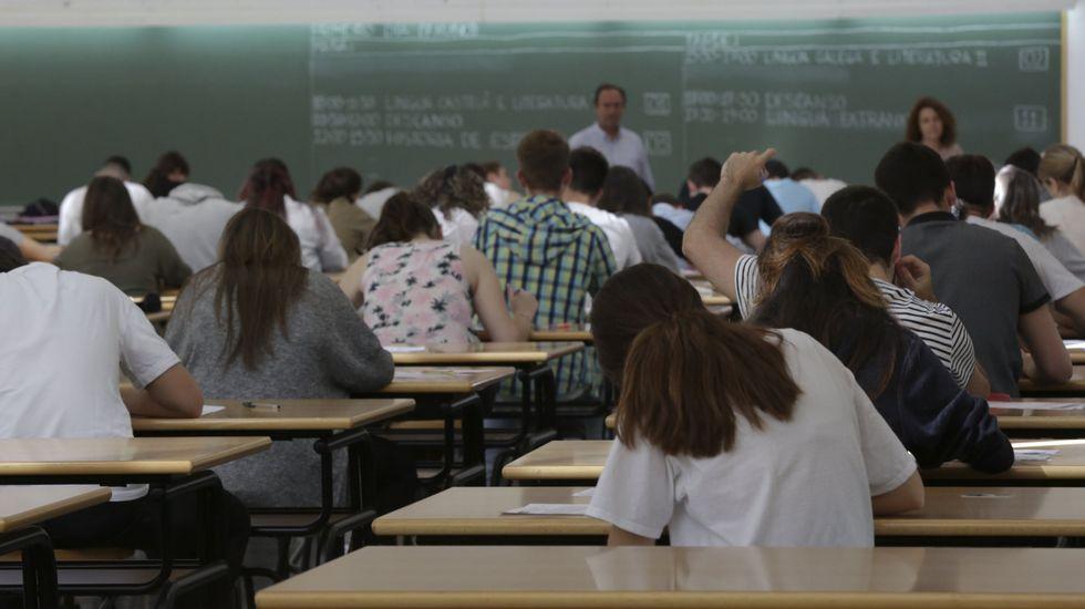 Tal y como está planteado el sistema educativo, los estudiantes se juegan su futuro en la media de bachillerato y en los exámenes de selectividad