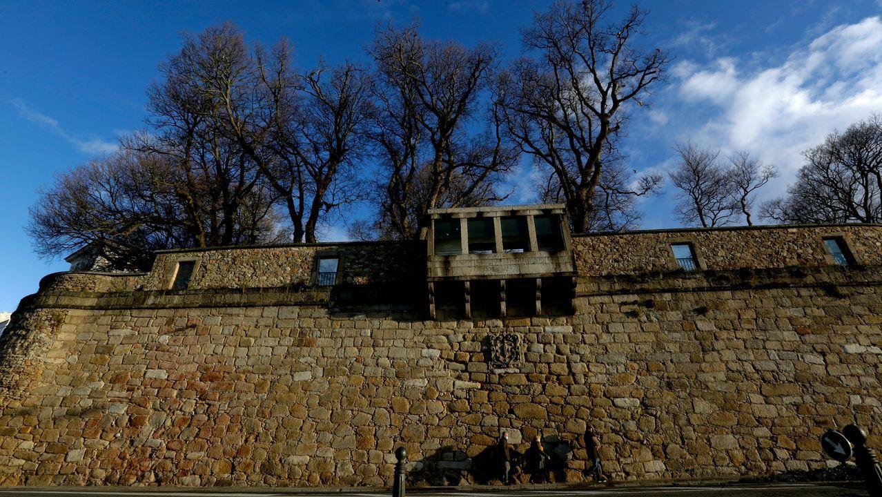 El puente dr Cruzul en la década de los 50 del siglo pasado, cuando se usaba en la N-VI