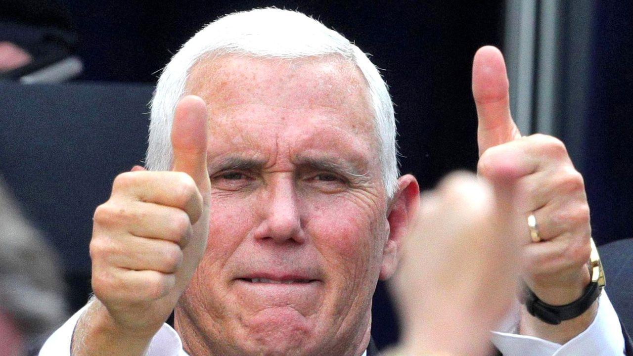 El vicepresidente de EE.UU., Mike Pence, en Orlando