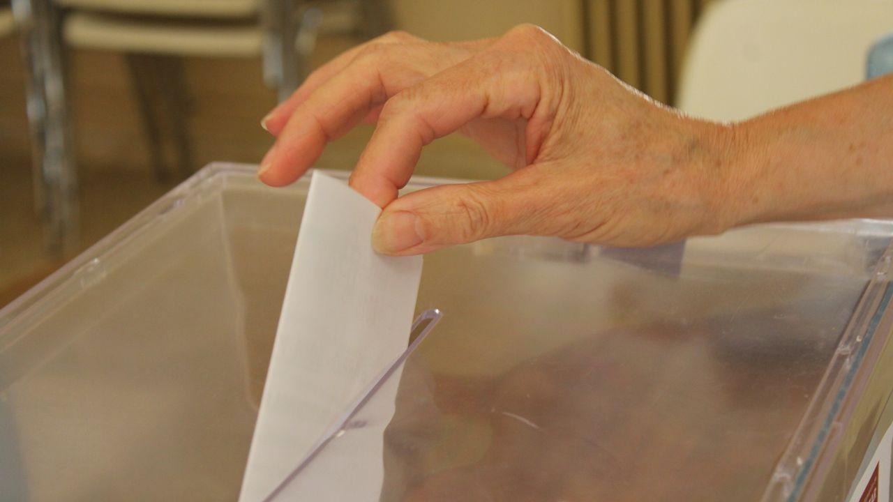 Recuento del voto emigrante, en el 2016