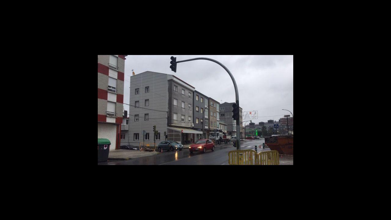 El pasado septiembre falleció un motorista en la N-640 a la altura de Casanova, en el municipio de Riotorto