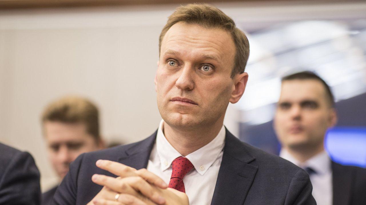 Negros en el ejército y gays en tu cocina si no votas en Rusia.Partidarios de Navalni protestan contra su detención en la plaza Pushkinskaya, en Moscú