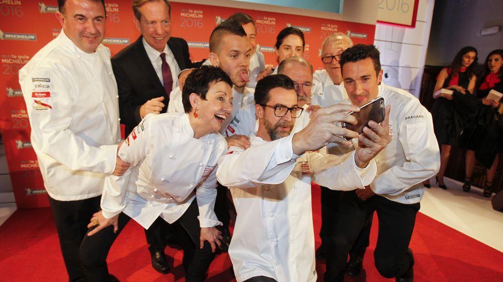 Santiago acoge la gala de la Guía Michelin