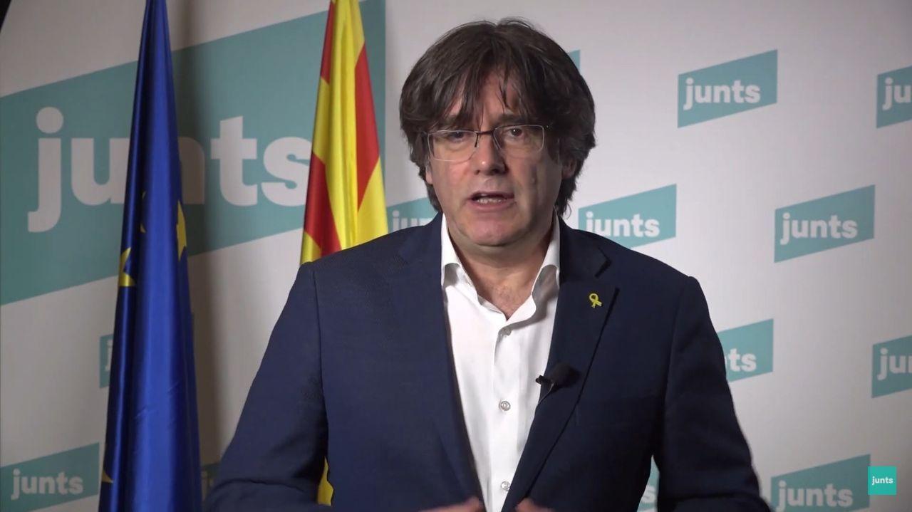 El prófugo de la Justicia Carles Puigdemont
