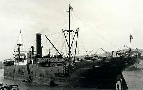 El Navigator se hundió tras chocar con el vapor sueco Ceylon.