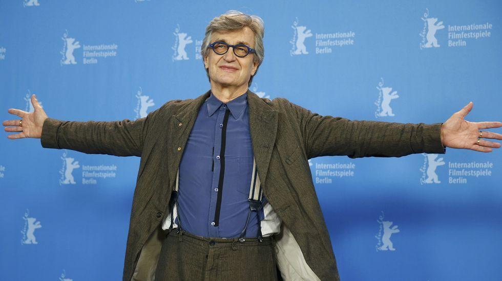 Así fue el estreno de «50 sombras de Grey» en Berlín.Oliver Hirschbiegel con los actores Christian Friedel y Katharina Schuettler