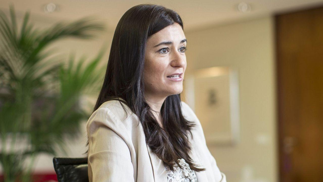 Las caras del equipo de Gobierno de Pedro Sánchez.Carmen Montón, hasta ahora consellera valenciana de Sanidad, será la nueva ministra de Sanidad, Consumo y Bienestar Social