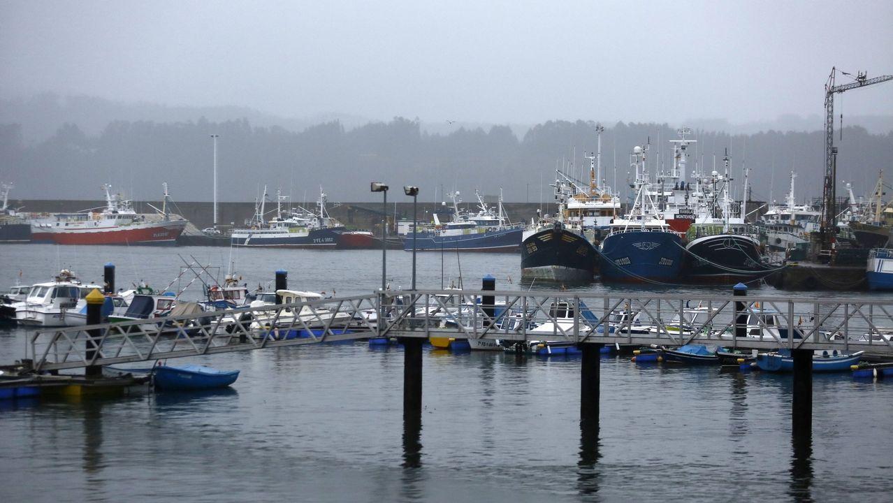La fuerza de Félix en la costa de Pontevedra