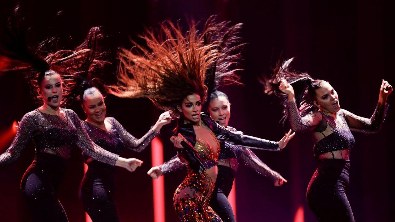 Así ha sido el ensayo de algunos de los «favoritos» para ganar Eurovisión