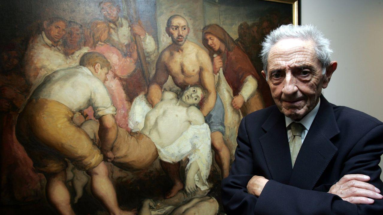 meiras.A mostra no Gaiás incluirá obras de arte e obxectos persoais de Díaz Pardo