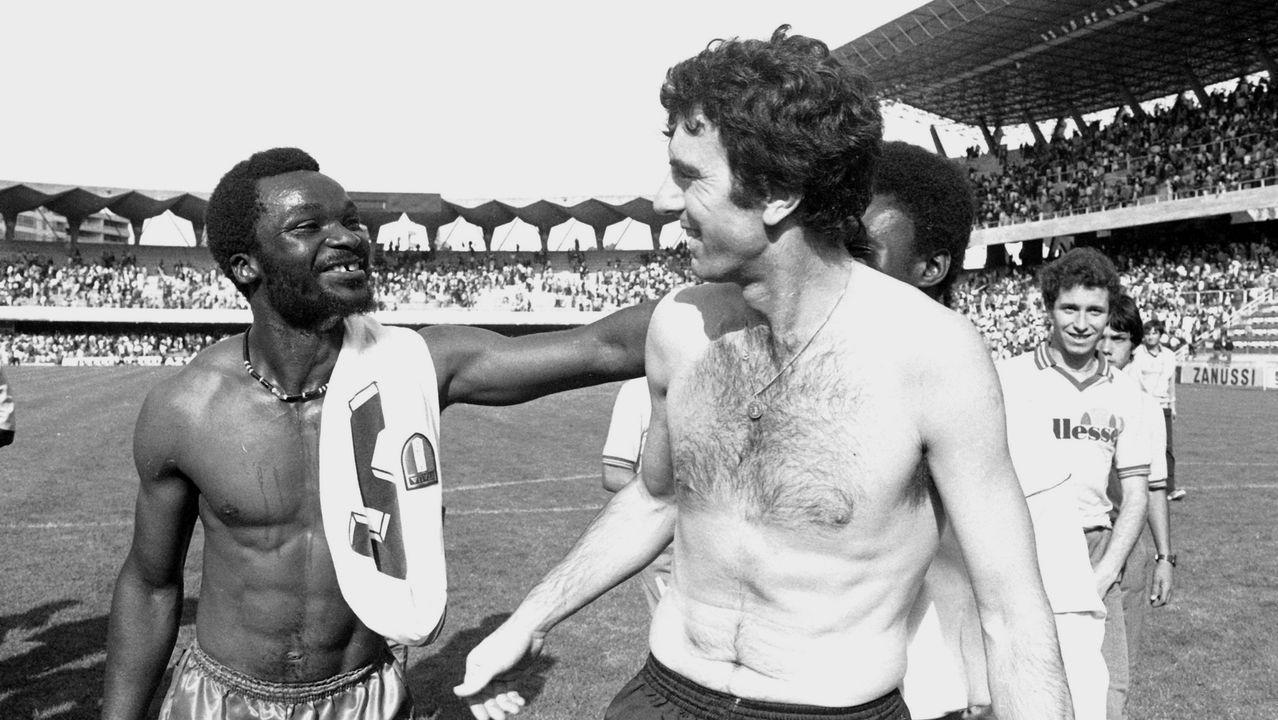 El 23 de junio de 1979 las selecciones de Italia y Camerún empataron a unos en un encuentro internacional que tuvo lugar en Balaídos