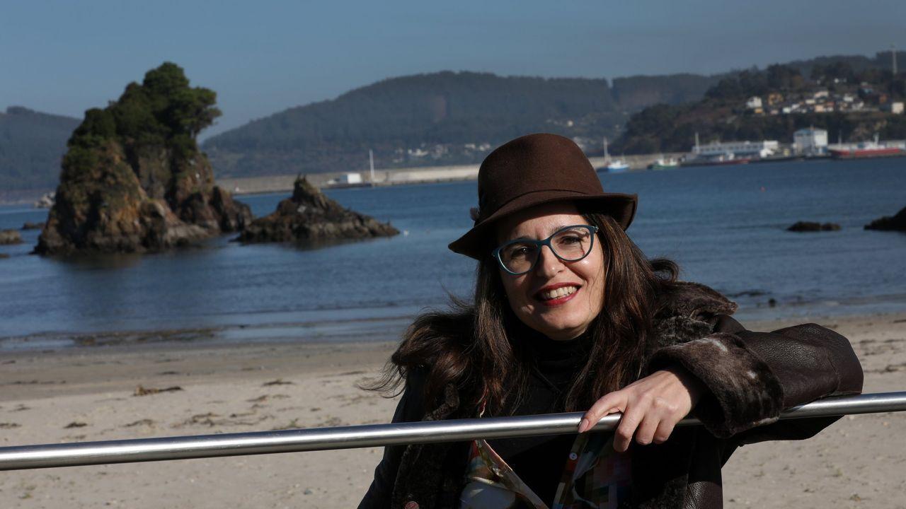 Teresa Pérez, del centro E-Movere en Viveiro, en una imagen de archivo