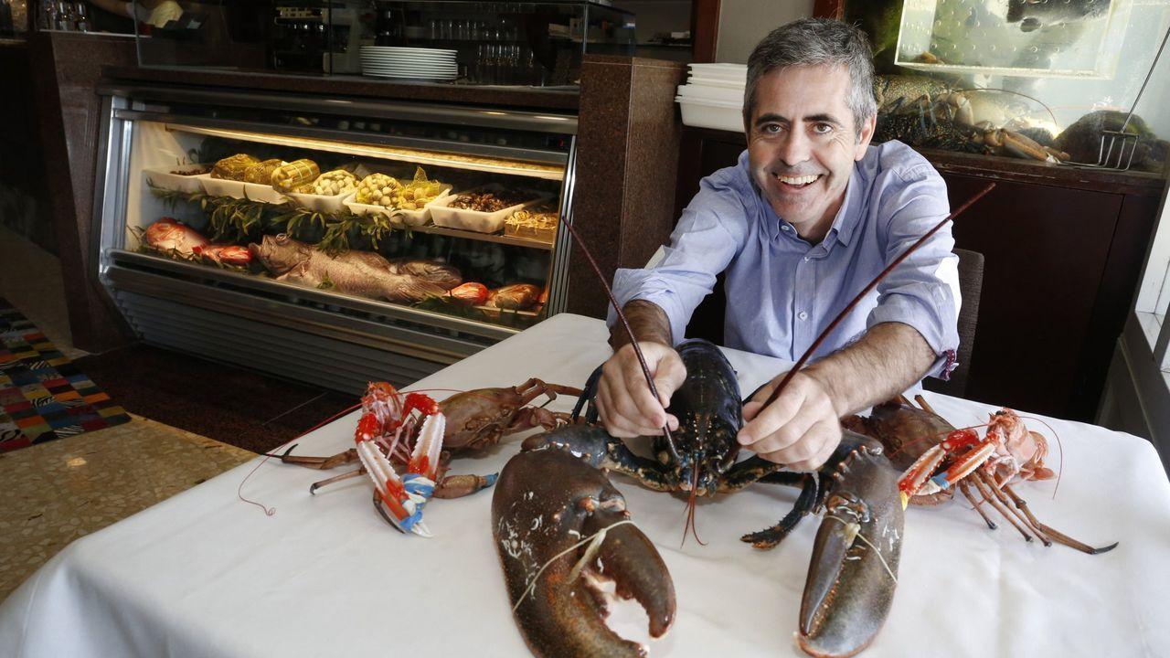 Marcos Granda, en Skina
