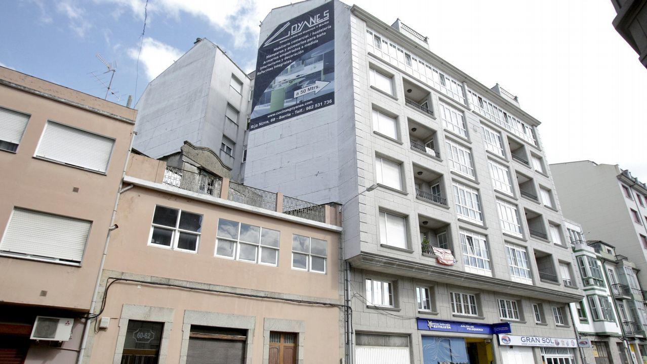 Inauguran una exposición minera de A Silvarosa en Vieiro.María Loureiro, alcaldesa y candidata del PSOE a las elecciones municipales de Viveiro