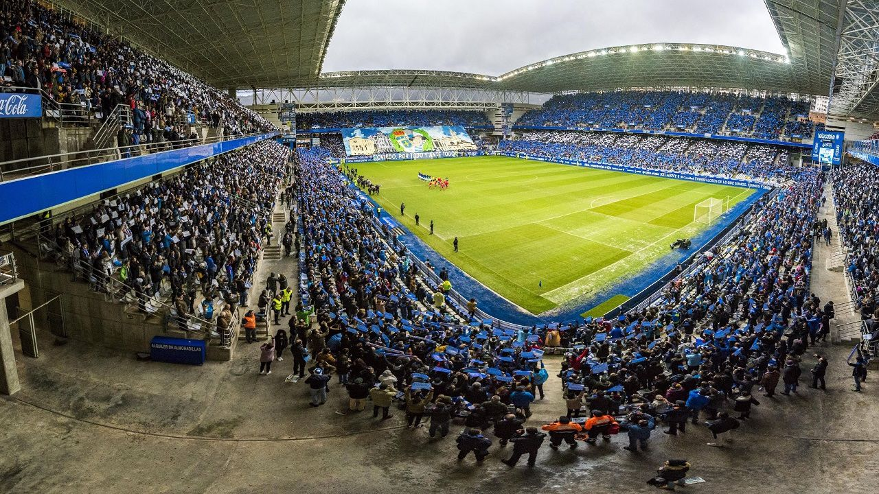Así se celebró La Liga del Deportivo en el 2000.Estadio Carlos Tartiere