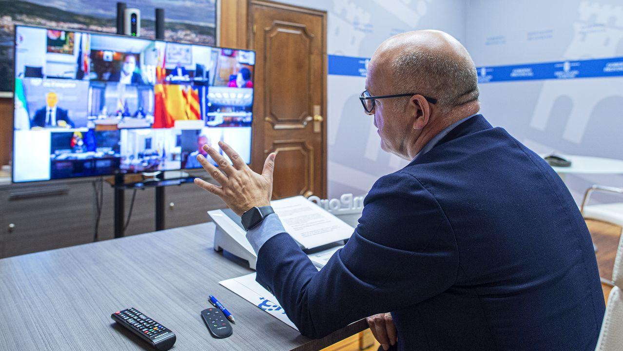José Manuel Baltar participa en la Comisión Nacional de Administración Local