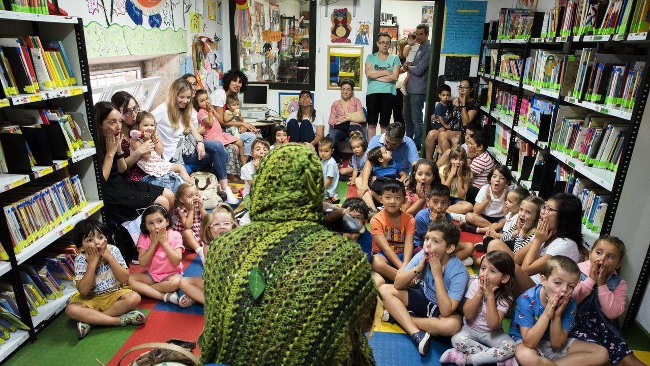 Los pequeños disfrutaron en la biblio de ciencia y naturaleza.La biblioteca organiza cada verano un gran número de actividades infantiles culturales