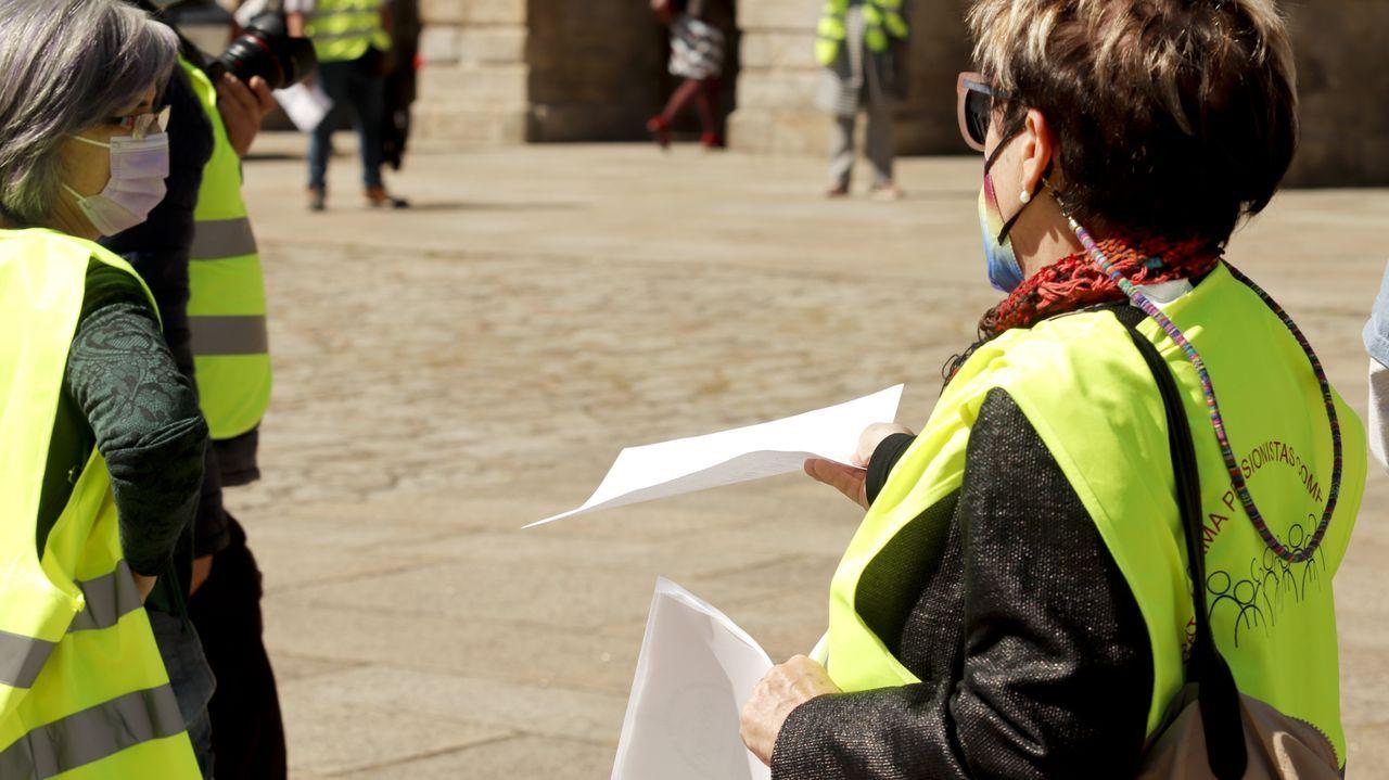 El entorno de la plaza de la Ilustración registra el importe medio de pensiones más alto de Ferrol