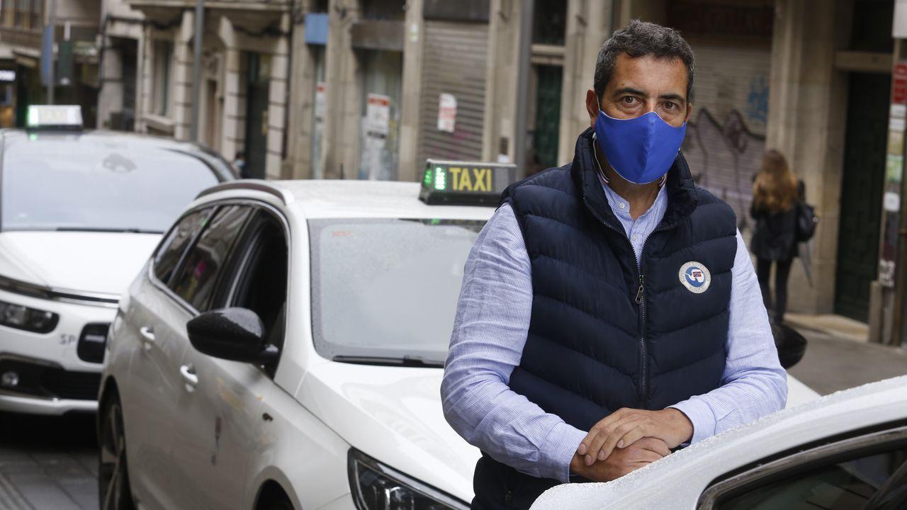 Manifestación de la hostelería compostelana contra las restricciones por el coronavirus.La enfermera y el celador del que se enamoró y la estafó se conocieron trabajando en el Hospital Provincial de Conxo, en Santiago