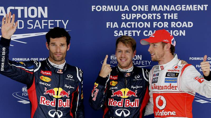 Alonso abandona tras salirse en la primera curva de Suzuka.El último podio del Mundial de fórmula 1, en Abu Dabi