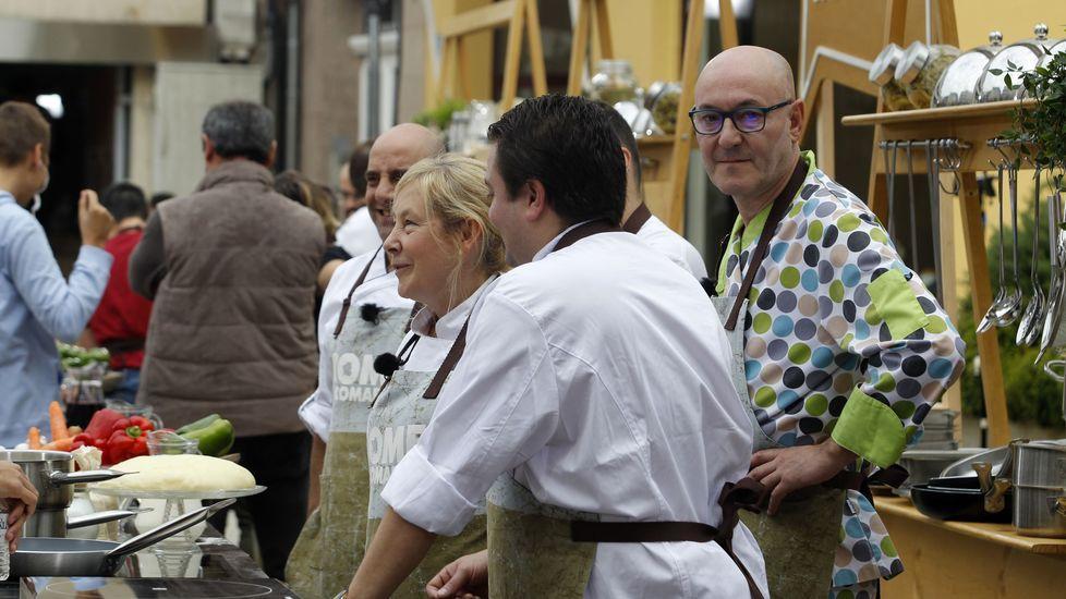 O pasteleiro monfortino Luis Aguiar distinguiuse co traxe máis orixinal de todos