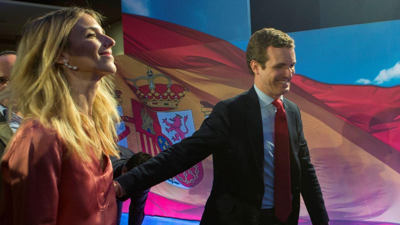 Casado renueva cúpula y le cierra a Sánchez todas las puertas.La diputada Cayetana Álvarez de Toledo, en una conferencia en Ourense