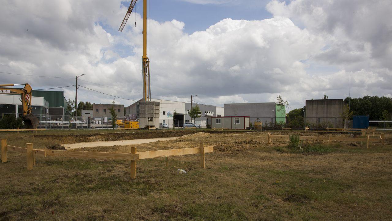 Las obras en el que será el nuevo centro social de Bértoa ya han comenzado