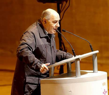 Presentación de la Mostra, esta mañana en el Museo do Encaixe.Rodríguez Conchado cree que a los accionistas se les privó del derecho a acudir al artículo 223.