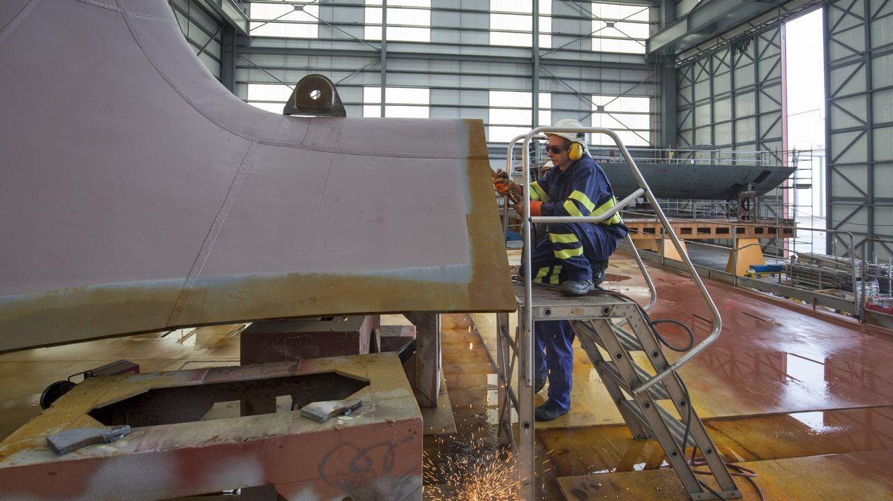 Preparativos de los trabajos que culminan la infraestructura