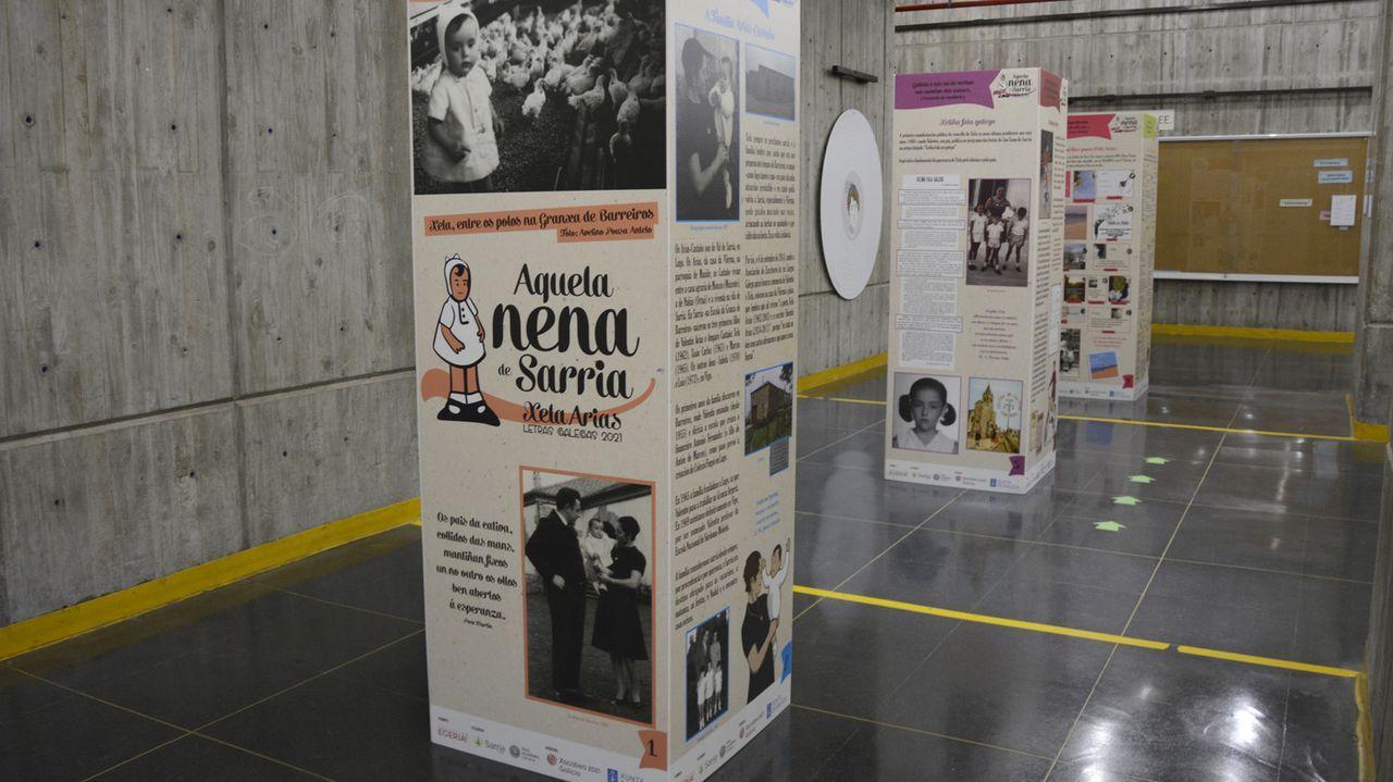 O Campus de Ourense encheuse de Xela Arias para festexar o Día das Letra Galegas