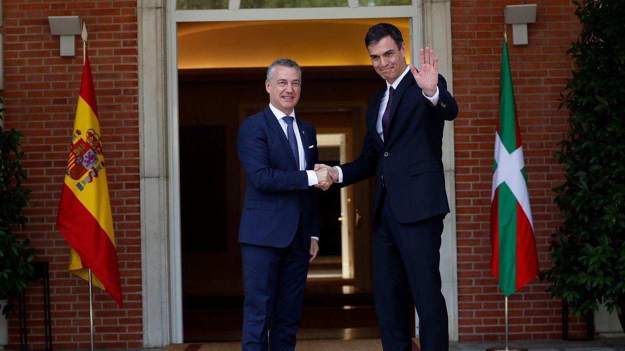 Íñigo Urkullu y Pedro Sánchez, en una imagen de archivo