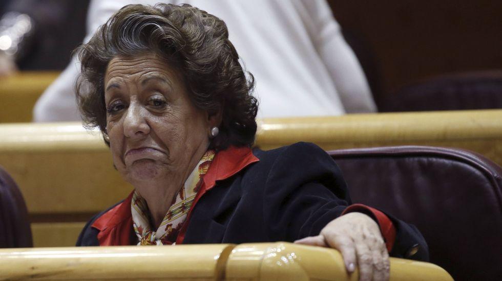 Rita Barberá: «Urdangarín me dijo que Nóos carecía de ánimo de lucro».Miguel Bernard, secretario de Manos Limpias