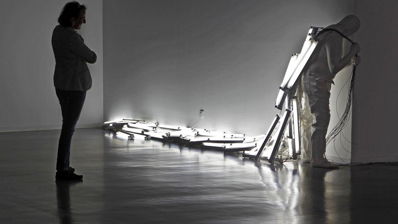 Pieza de una exposición en el 2012 del artista balear Bernardí Roig