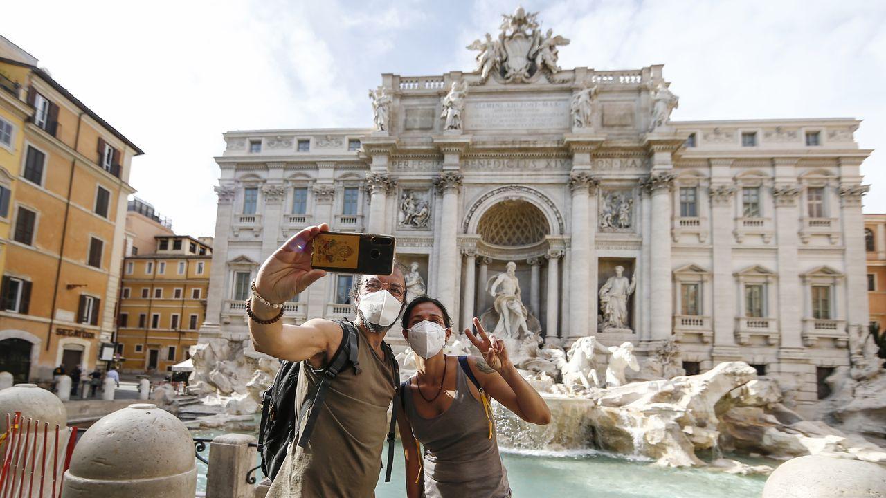 Así está siendo la desescalada en el mundo, en imágenes.Italia estudia compaginar las clases presenciales con las 'online' a partir de septiembre