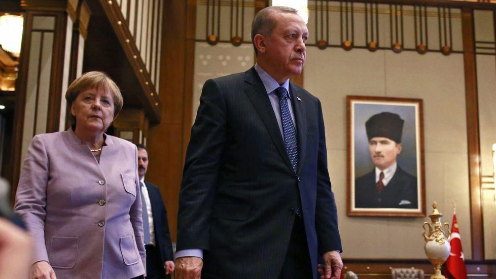 Miembros del ejército turco