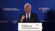 El primer ministro portugués, Antonio Costa