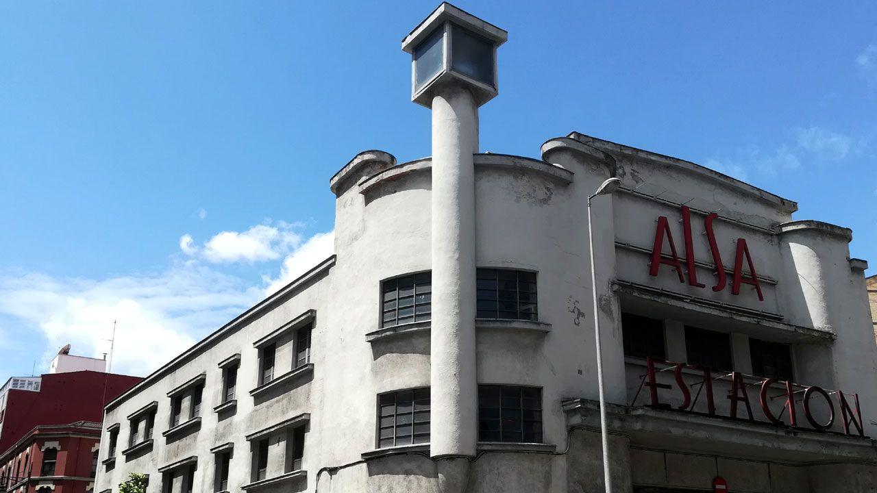 Estación de Alsa en Gijón