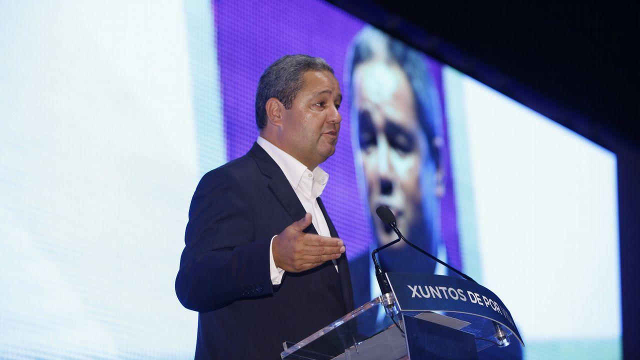 Jesús Martínez Loira presenta su candidatura a la presidencia del Deportivo.Zalaeta - Arroyo