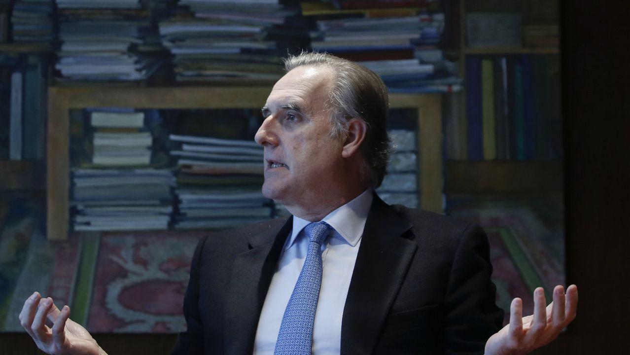 Isabel Tocino: de exministra de Medio Ambiente a presidenta del Banco Pastor.Una imagen del Museo de La Voz de Galicia en Sabón